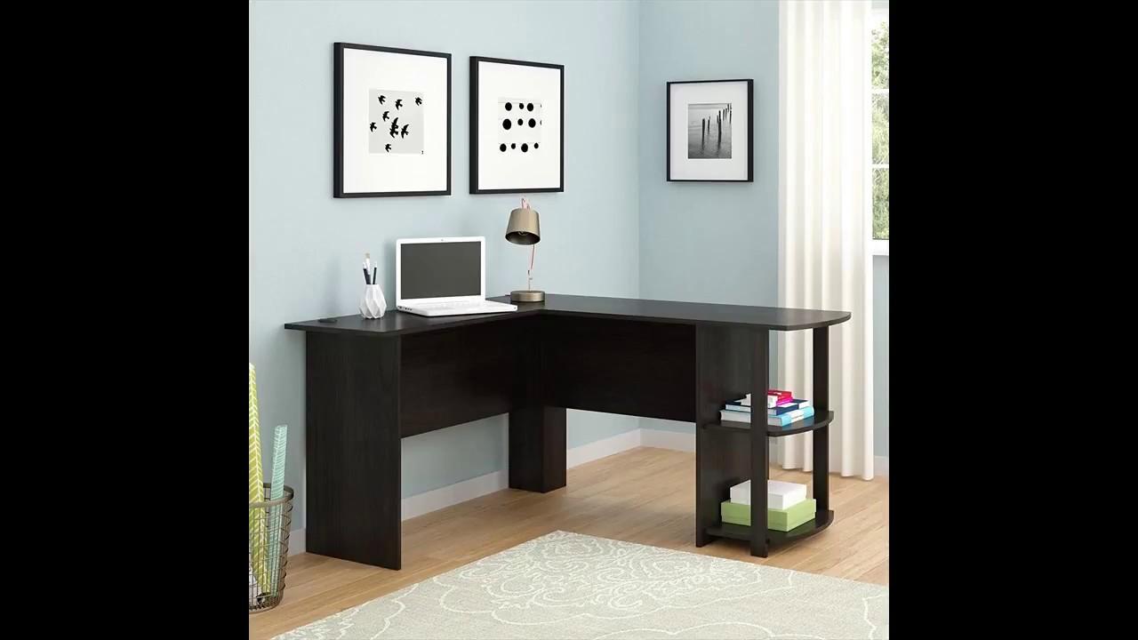 buy popular 81534 b5aa1 Ameriwood Home Dakota LShaped Desk with Bookshelves