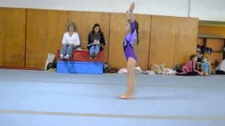 Sára Moocová - prostná Baby Gym Cup 2013