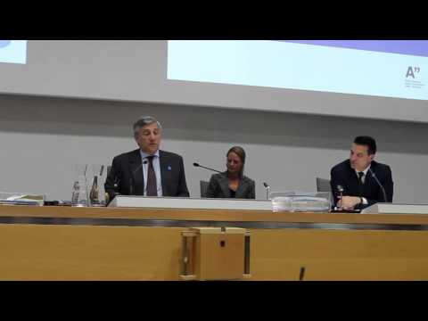 EDII Press Conference: EU Commission Vice President Mr Antonio Tajani, 17.9.2012