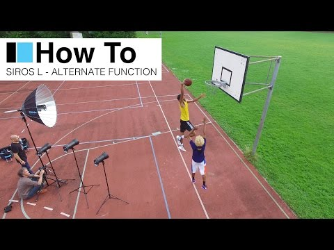 Shooting basket ball players in the next broncolor 'How To' Siros L Alternate