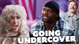 Best UNDERCOVER Moments | Brooklyn Nine-Nine | Comedy Bites