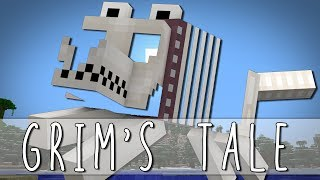 GRIM'S TALE | How I Met Grim The Skeleton Dog | Minecraft(