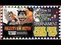 How to register in SEA-IN Tournament !! FREE FIRE ka World Cup 💥💥