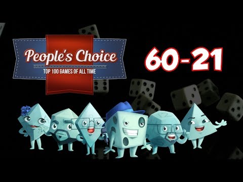 People's Choice Top 100 Games of All Time: #60 - #21