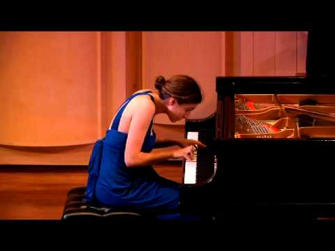 Bach: The Art of Fugue, BWV 1080, Contrapunctus 1 performed by Agata Sorotokin