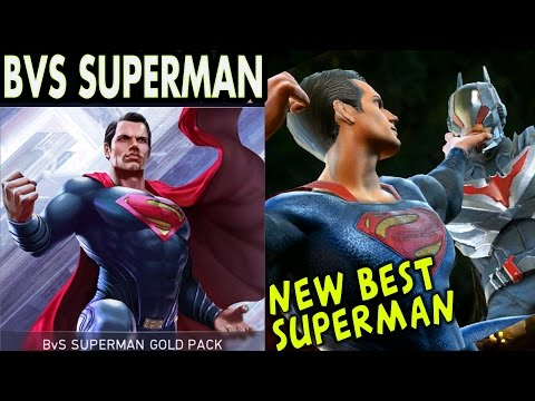 Injustice 2 Mobile: BVS Superman. Super move | Gameplay | Review. Android/IOS