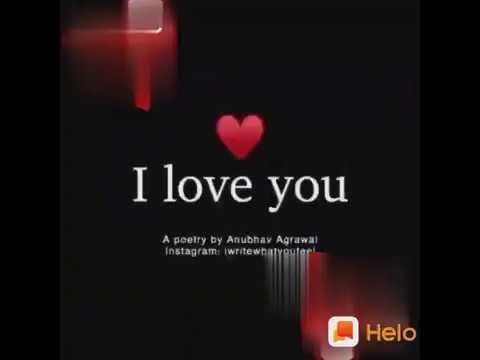 I Love You ..ka matlab kiya hota hai