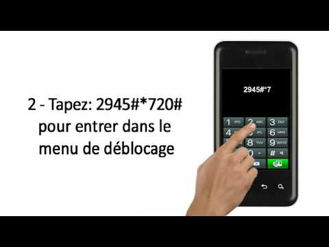 Comment Debloquer telephone Portable LG Optimus Chic