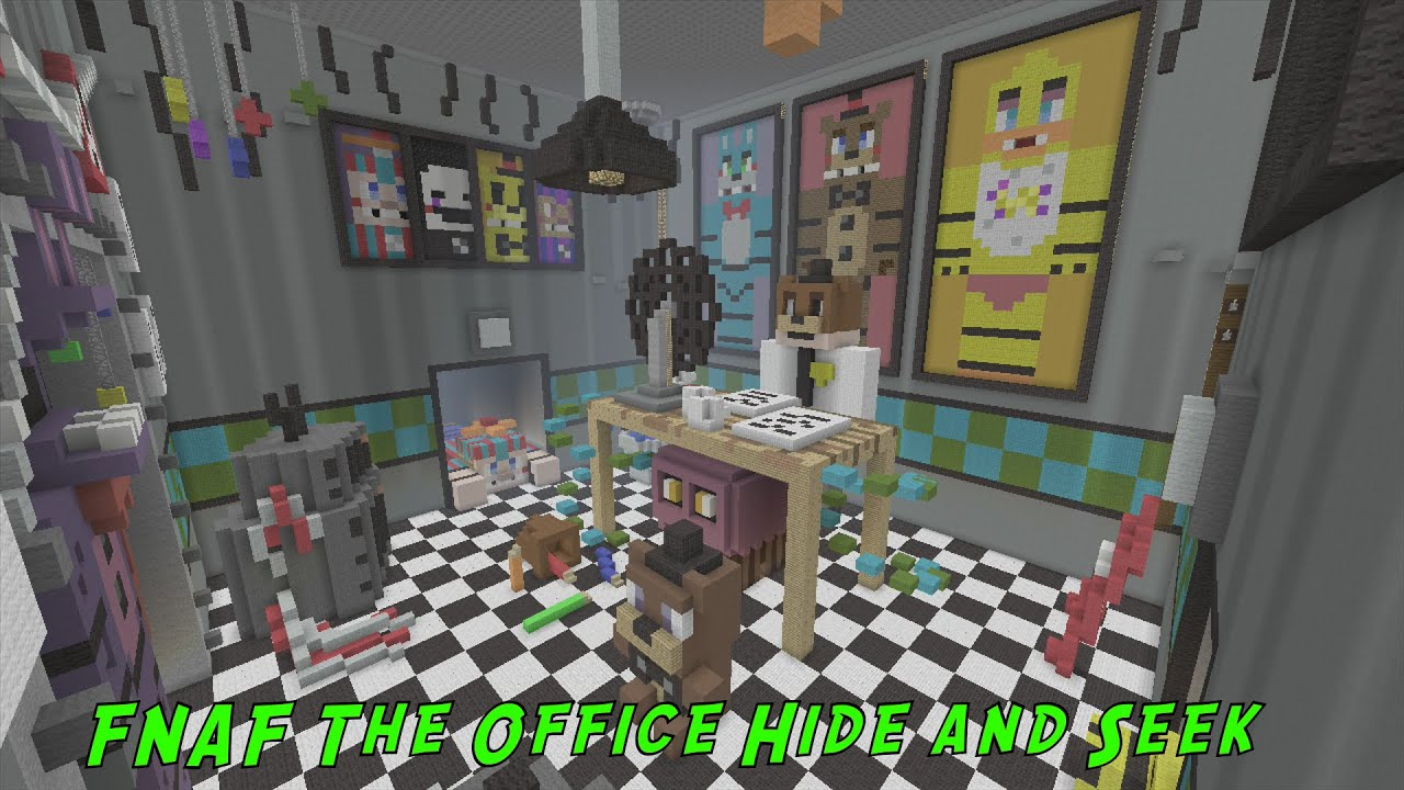 minecraft fnaf hide and seek map