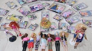Barbie Çarkıfelek Kombin Challenge #3.Bölüm Heyecan Devam Ediyor! Bidünya Oyuncak