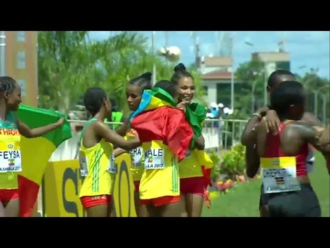 U20 Women -  2017 World Cross Country Championships Kampala