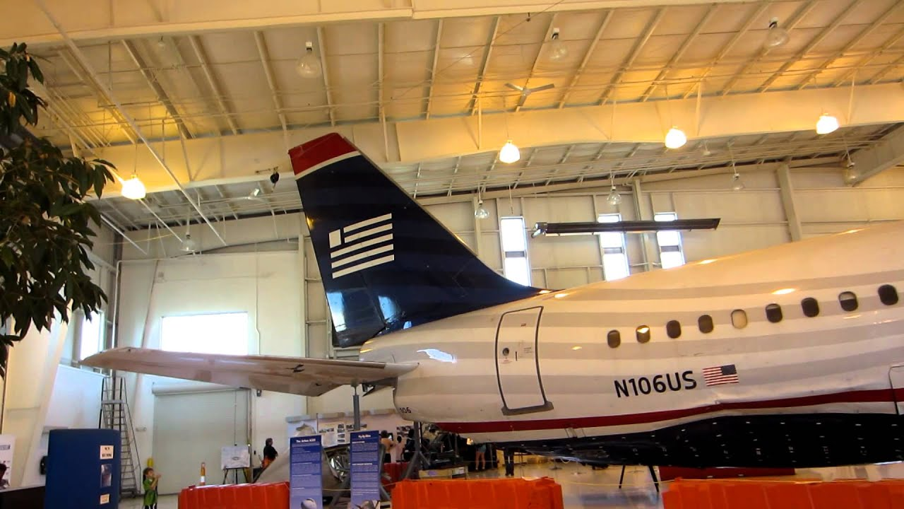 "US Air flight 1549 ""Miracle on the Hudson"" plane at the"