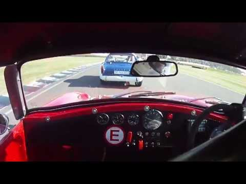 Goodwood Revival 2012 Fordwater Trophy Race Onboard Turner MKII