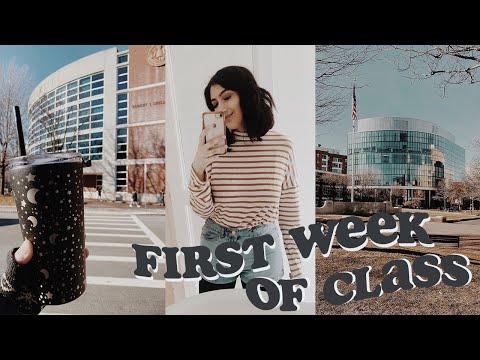 College Week In My Life: First Week Of Classes   Northeastern University