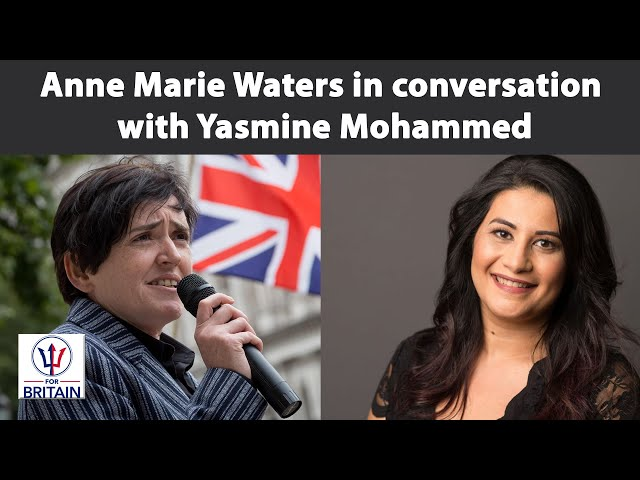 Anne Marie meets Yasmine Mohammed // For Britain