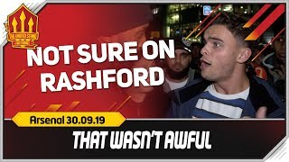 VAR & RASHFORD COST US! Manchester United 1-1 Arsenal Fancam