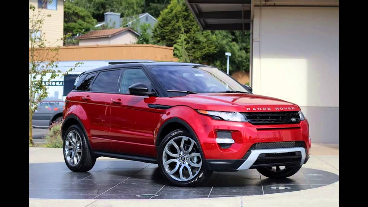 2016 range rover evoque firenze red youtube. Black Bedroom Furniture Sets. Home Design Ideas