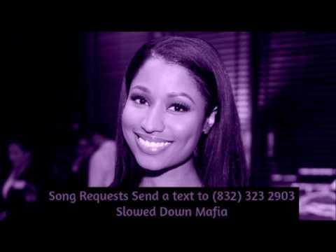 Nicki Minaj   Black Barbies Screwed Slowed Down Mafia @djdoeman Song Requests Send a text to 832 323