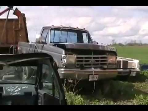 966 1991 Ford Diesel F250 Truck Cold Start Skyhill And