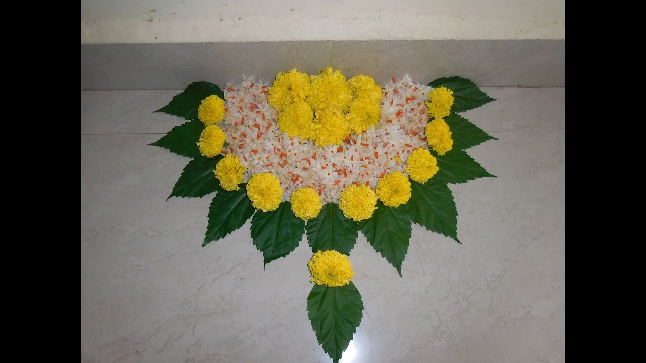 Flower decoration new youtube New flower decoration