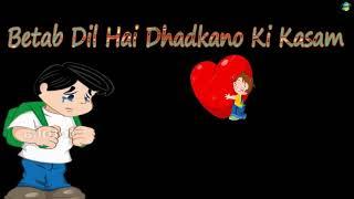 Phir Milenge Sanam || Betab Dil Hai || WhatsApp Status New 2017 || Letest Status