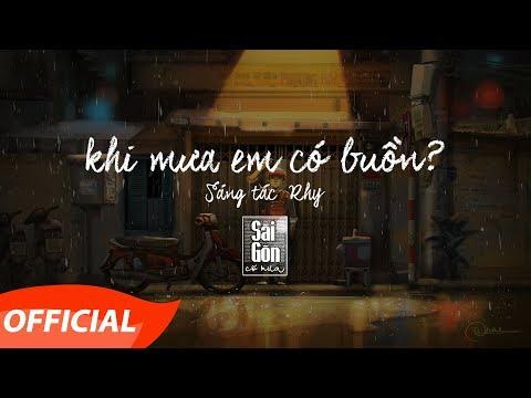 Khi Mưa Em Có Buồn | Rhy | Official Audio - Lyrics Video