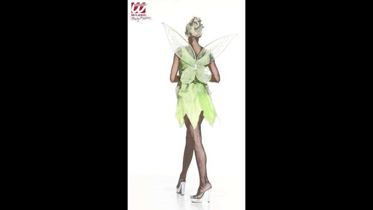 Fee Kostuum Dames.Groene Fee Kostuum Dames