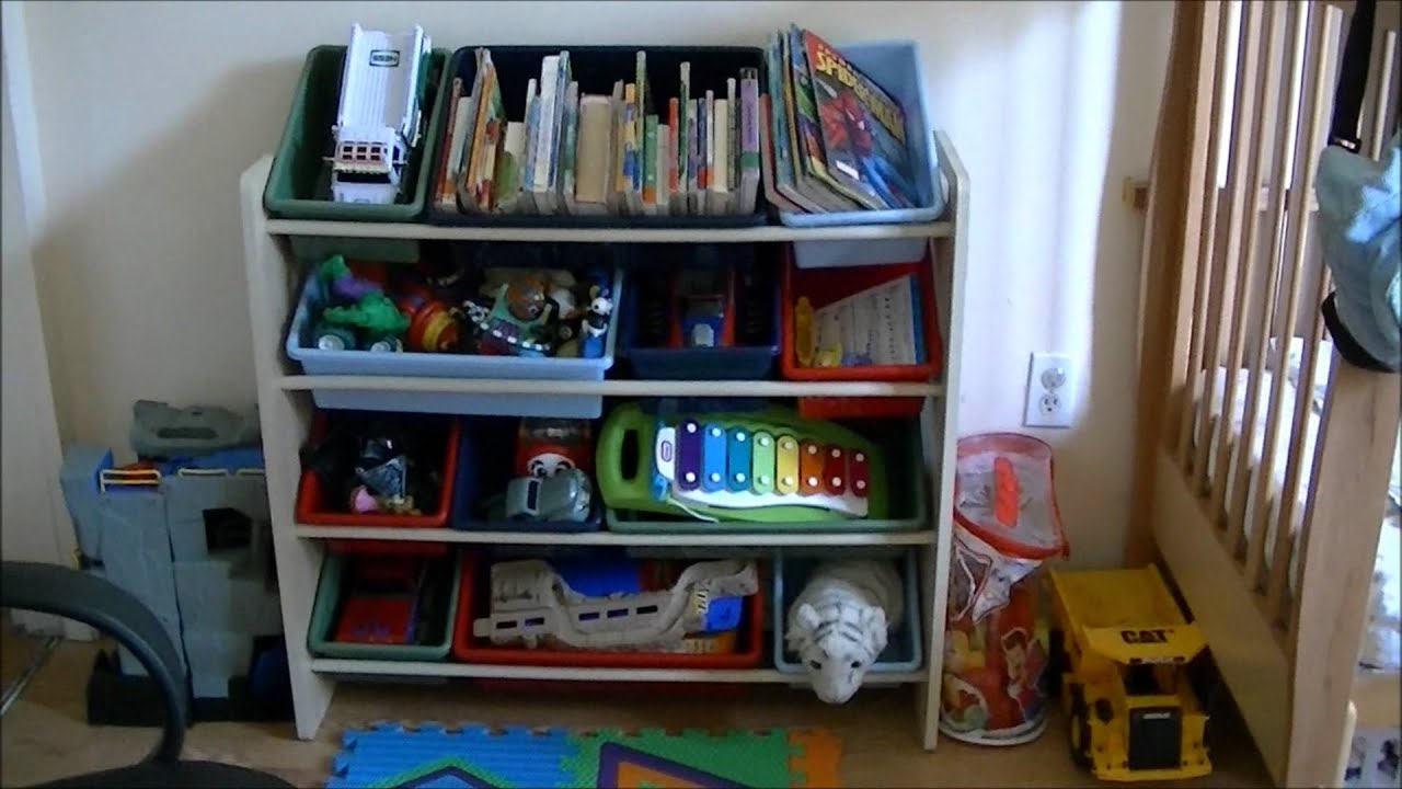 Kids room organization before after youtube for Kids room organization