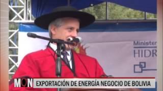 03/07/2015 : 20:43 - EXPORTACIÓN DE ENERGÍA NEGOCIO DE BOLIVIA