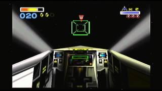 Star Fox 64 part 2 FLYING ROCKS HURT!