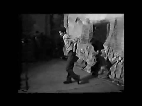 Electric Boogie and breakdance festival in Veten cinema - Baku/Azerbaijan. Year ~1999
