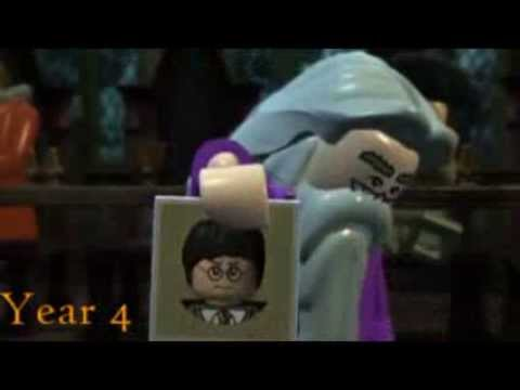 Harry potter in 99 seconds (Lego)