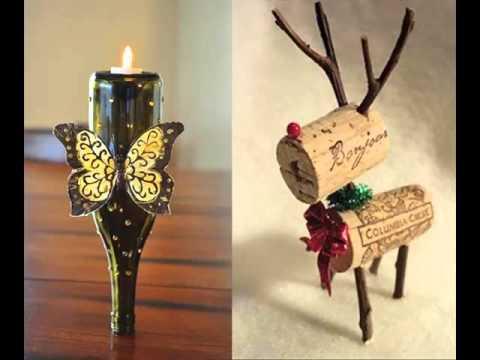 Empty Wine Bottle Craft Ideas   Home Decration Picture Ideas
