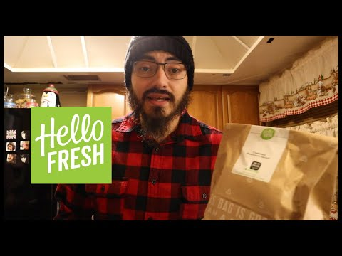 THEY LEFT FOOD AT MY DOORSTEP (HELLO FRESH REVIEW) | SPIKE REVIEWS