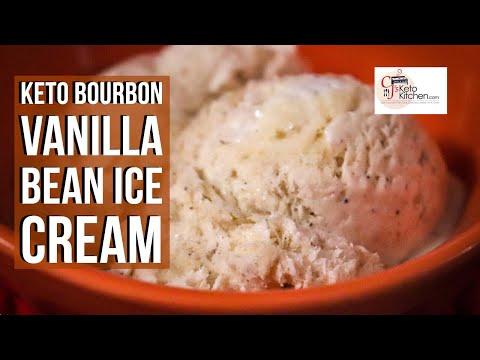 keto-vanilla-bean-ice-cream-no-churn-and-sugar-free-#ketoicecream-#ketodesserts-#lowcarbdesserts