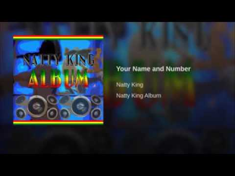 Natty King -  Name and Number reggae music