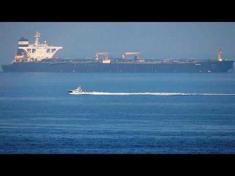 Euronews:US makes last-ditch bid to seize Iranian oil tanker Grace 1