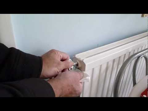 How to bleed air from a radiator. Get more heat from your radiators.