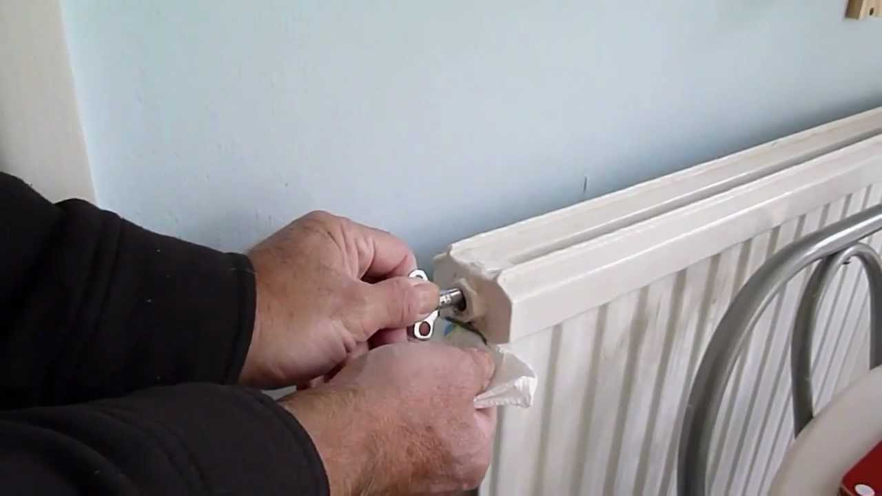 How to bleed air from a radiator. Get more heat from your radiators ...