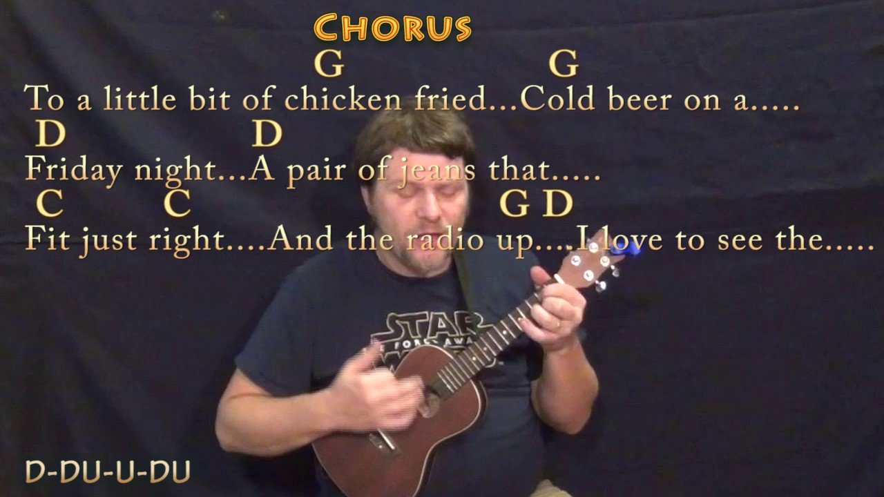 Chicken fried zac brown ukulele cover lesson in g with chords chicken fried zac brown ukulele cover lesson in g with chordslyrics hexwebz Choice Image