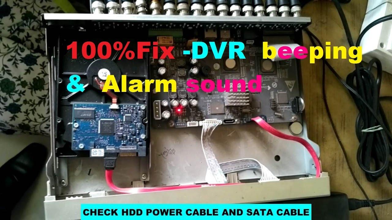 100%(SOLUTION)!!!Hikvision DVR Beeping & Alarm (sound)