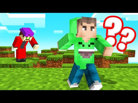 MINECRAFT But The WORLD Is FALLING APART!