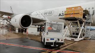 Départ d'un Airbus avec 80 équipiers et 160 mètres cubes de matériel