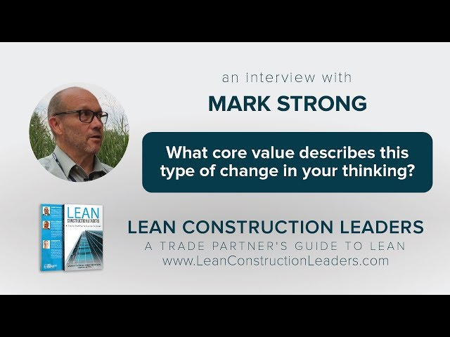 What core value describes this type of change in your thinking?