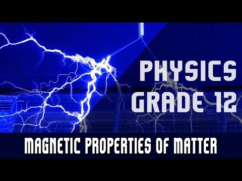 Magnetic Properties Of Matter
