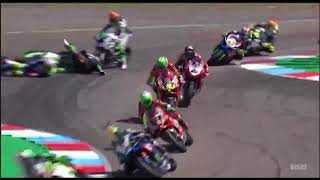 BSB British Superbike 2018 Round 7 Thruxton Race 1