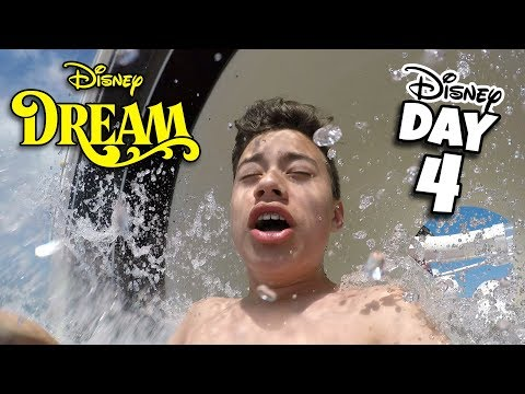 DISNEY DREAM TO THE BAHAMAS!!! Water Slides & Room Tour! Cruise Week - Day 4