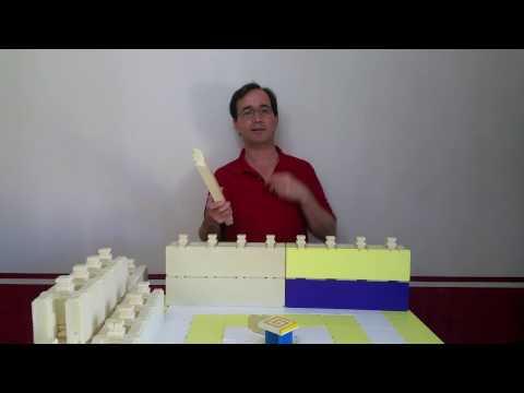 Polyurethane foam building blocks. How they work.