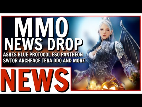 MMO News Drop: Ashes Alpha Dates, Blue Protocol Next CBT, Pantheon Alpha and More!
