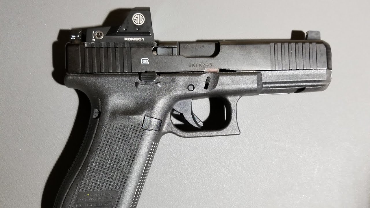 Johnny Glock trigger installed in my Glock 17 Gen 5 MOS